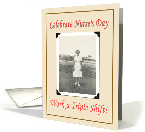 Nurses day- FUNNY card (382013)
