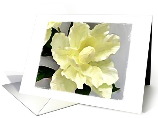 Impressionistic Watercolor ... Floral I card (432581)