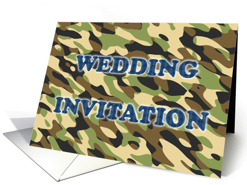 Camouflage card (240070)