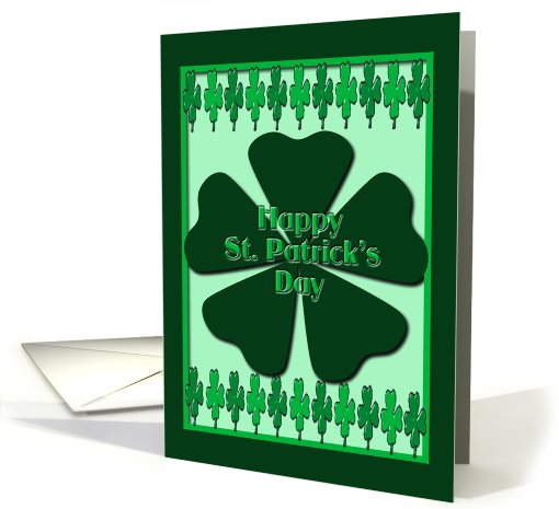 Happy St. Patrick's Day card (753427)