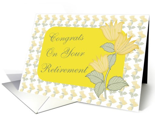 Congrats-Retirement-Employee card (423481)