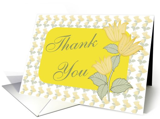 Thank You-Business card (423581)