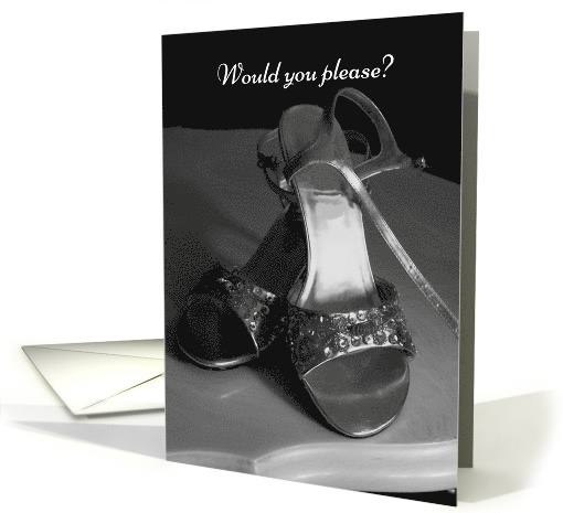 Fancy Shoes Will You Be My Bridesmaid Invitation card (217881)