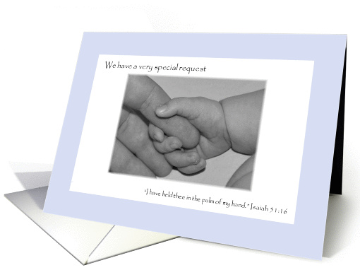 Will You Please Be Our Son's Godparents? card (847705)