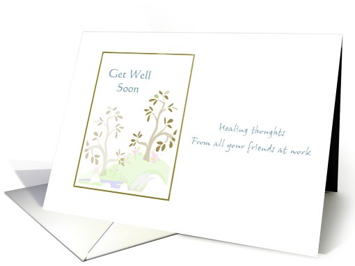 Get Well Card from Workmates card (618786)