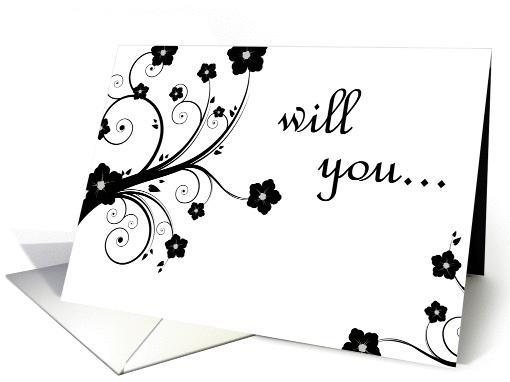 will you be my bridesmaid? card (275588)