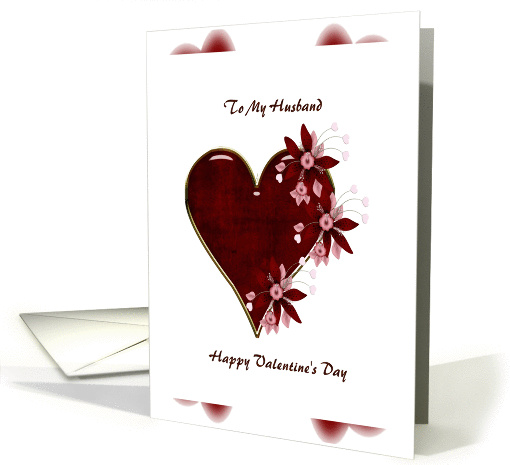 to my husband happy valentines day card (358031)