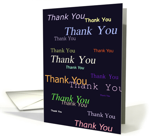 Thank You card (276748)