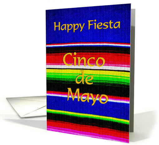 Cinco de Mayo - Happy Fiesta card (392130)