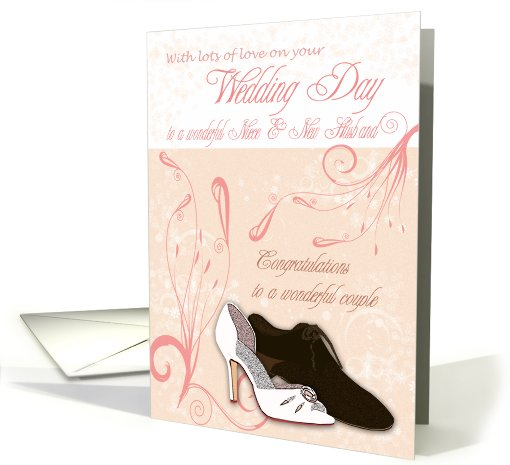 Niece Wedding Day Card with love card (418895)