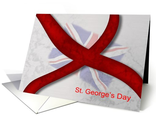 St. George's Day Celebration Cross Of St. George card (556954)