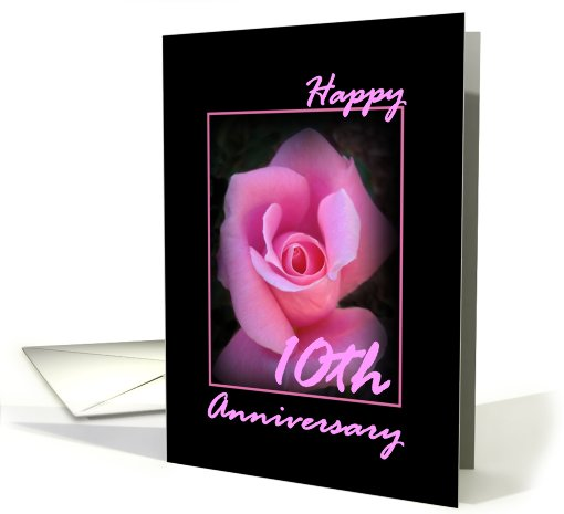 10th Anniversary Congratulations card (402696)