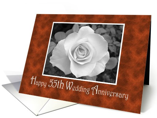 Happy 55th Wedding Anniversary card (398798)