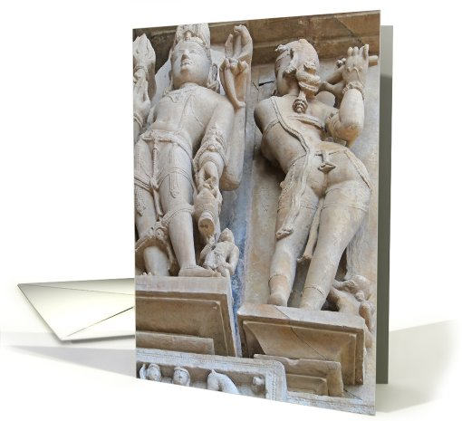 Apsara naked dancers card (599936)