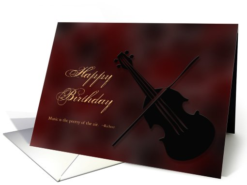Happy Birthday -  Musical card (419878)