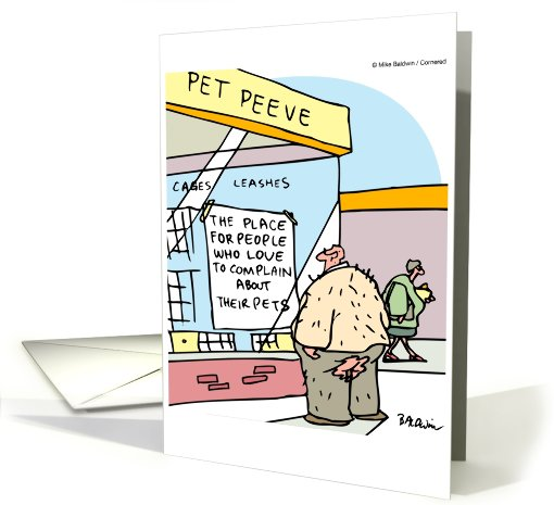 Father's Day from pet, Pet Peeve, people who love to... (604984)