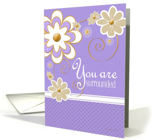 You are surrounded card (450791)
