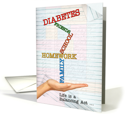 Juvenile Diabetes Get Well for Teen or Tween - Life is a... (1280008)