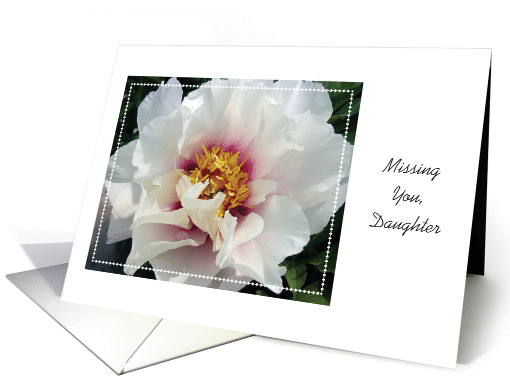 Missing You, to Estranged Daughter card (913801)