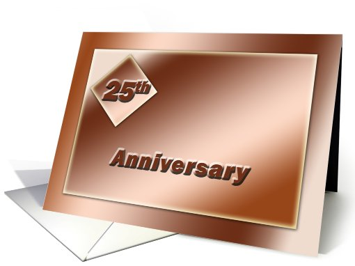 25 Year Business Anniversary card (695186)