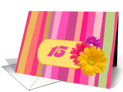 Birthday Party Invitation. Colorful Design card (684978)