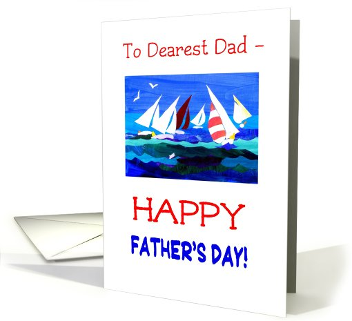 Father's Day Card - Dearest Dad card (817716)