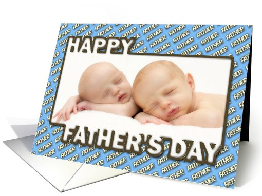 Father's Day Polka Dot Father Photocard card (929584)