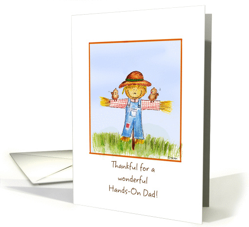 Thankful for a wonderful Hands-On Dad! card (865099)
