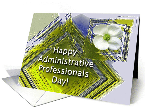 Happy Administrative Professionals Day Floral card (906836)
