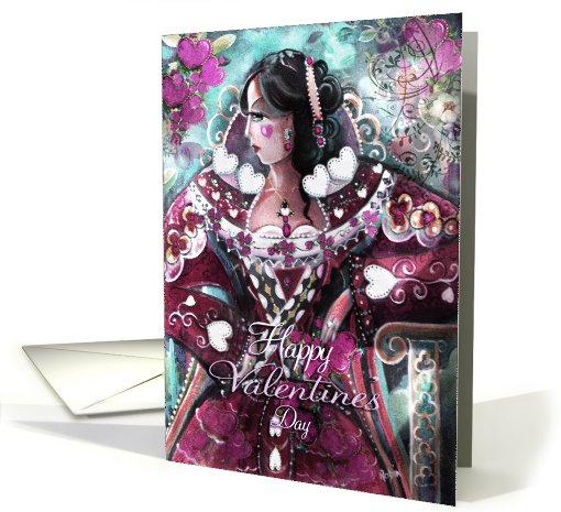 Queen of  Hearts, Valentines card (728946)