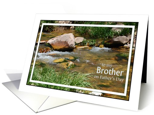 To Brother on Father's Day card (797321)