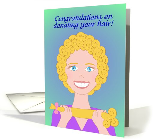 Congratulations on Donating Your Hair! Doing Good Looks... (878533)