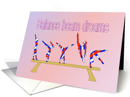 Wishing Gymnasts Inspiration and Encouragement On the... (949322)