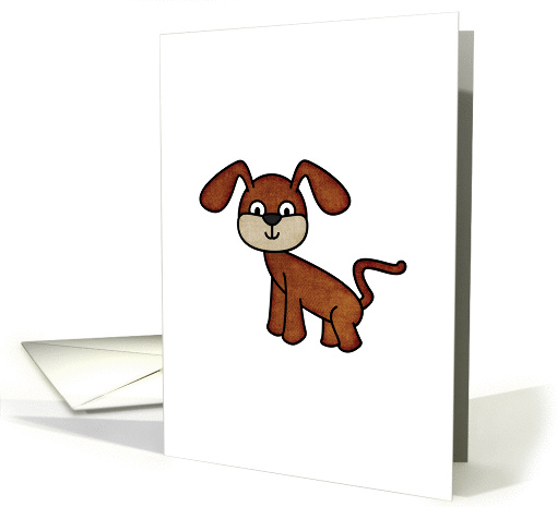 Cute Dog card (816270)