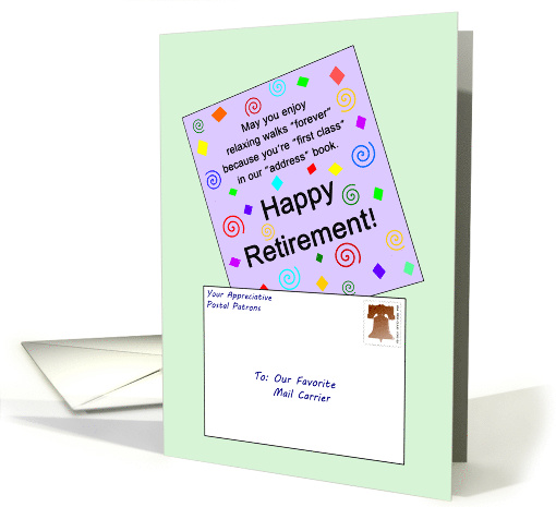 Happy Retirement to Our Favorite Mail Carrier - Card With... (906477)