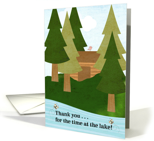 Thank You for the Time at the Lake, A Great Experience card (1127924)