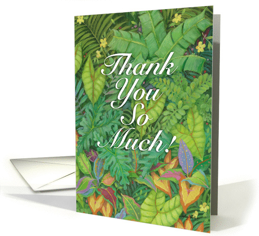 Thank You So Much card (1099574)
