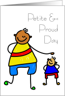 Petite and Proud Day May 4 Celebrate card