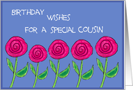 Happy Birthday for a Special Cousin card