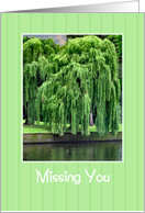 Missing You - Willow Tree card