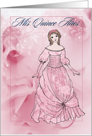 Quinceanera INVITATION card