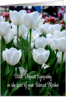 white tulips loss of mother card