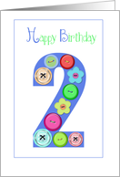 birthday 2 card
