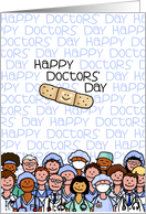 National Doctors' Day - Happy doctors' day card