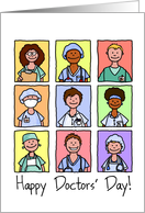 National Doctors' Day - Happy Doctors' Day! card