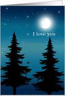 I Love You - Soft Serenity Notes For Hospice Patient card