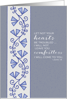 John 14 - Scripture Soft Serenity Notes For Hospice Patient card