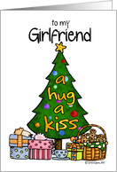 christmas - girlfriend card