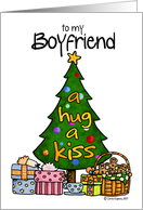 christmas - boyfriend card
