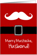 Merry Mustache - Husband card
